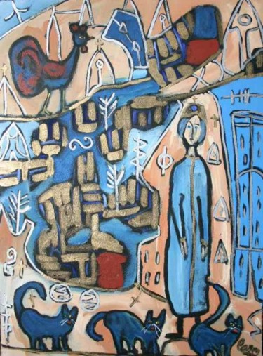 36x26 in ©1995 by Caron