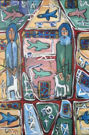 36x24 in ©1996 by Caron