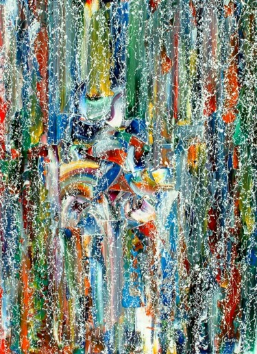 """Painting titled """"Vision Nouvelle _ C…"""" by Charles Carson, Original Art, Acrylic"""