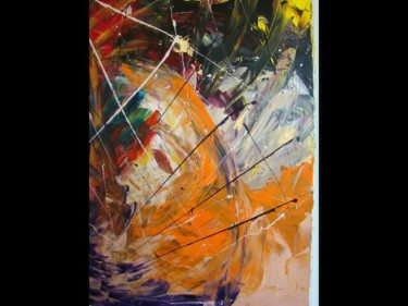 """Painting titled """"CHEVAL"""" by K100, Original Art,"""