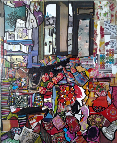 """Collages titled """"Legs With a View"""" by Marta Castellanos, Original Art, Collages"""