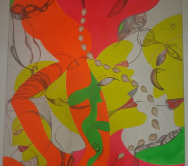 27.6x27.6x1.2 in ©2012 by Catherine SENECHAL