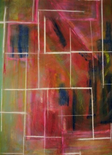 Painting, oil, abstract, artwork by Catherine M. Lavigne