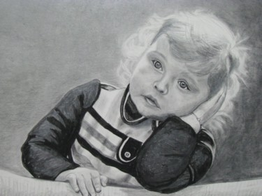 Drawing, charcoal, artwork by Catherine Mondoux (4ine)