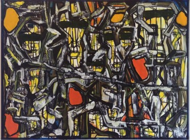 Abstract Painting, acrylic, street art, artwork by Catali
