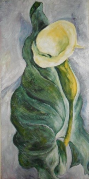 """Painting titled """"Calla"""" by Catia Biso, Original Art,"""