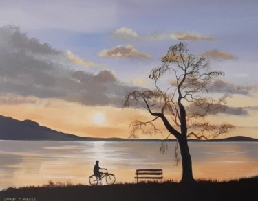 Everyday Life Painting, acrylic, hyperrealism, artwork by Cathal O Malley