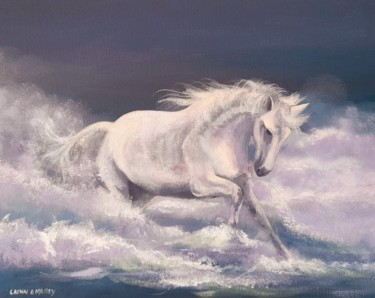 Animal Painting, acrylic, hyperrealism, artwork by Cathal O Malley