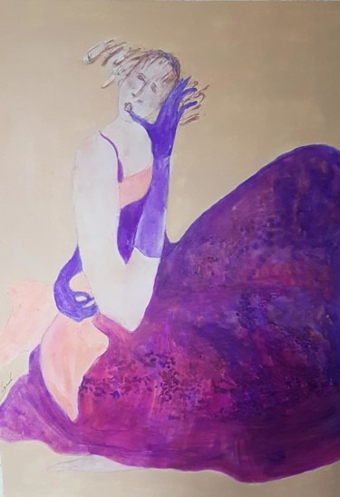 """Painting titled """"Sweet candy"""" by Cegede, Original Art, Acrylic"""