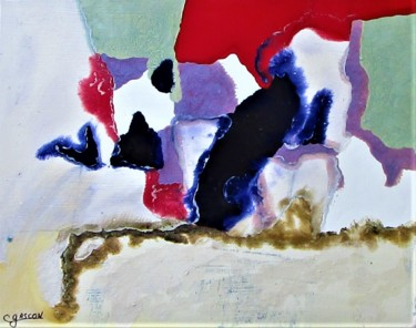 7.9x9.8x1 in ©2020 by Claude Gascon