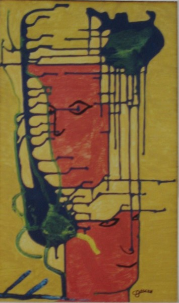 20.1x12 in ©2003 by Claude Gascon