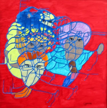 25x24.4 in ©2002 by Claude Gascon