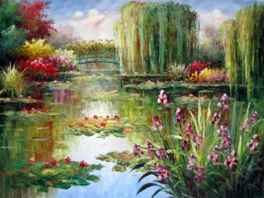 Painting, oil, artwork by Lermay Chiang