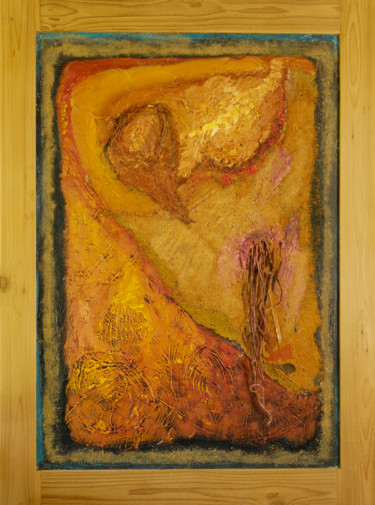 """Painting titled """"Inhumanity"""" by Charles Riley, Original Art, Oil"""