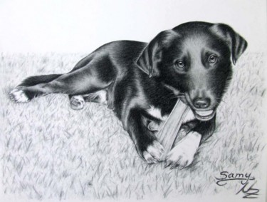 11.8x15.8 in ©2008 by Arts & Dogs