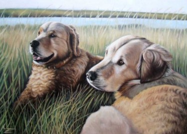 19.7x27.6 in ©2008 by Arts & Dogs