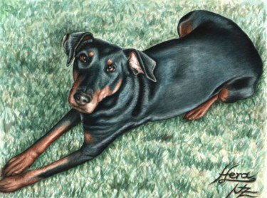 11.8x15.8 in ©2009 by Arts & Dogs