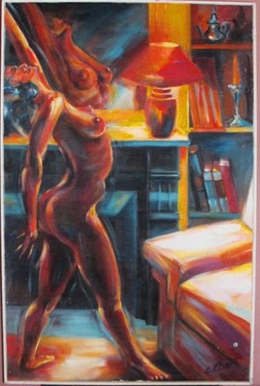 55.1x35.4 in ©1985 by Choquet Christian
