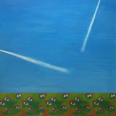 """Painting titled """"Contemporary landsc…"""" by Christian Lopez, Original Art,"""