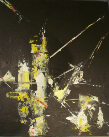 Painting, oil, abstract, artwork by Christophe Dupuy