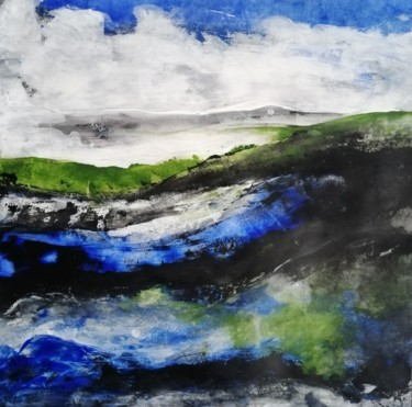 Landscape Painting, acrylic, figurative, artwork by Claire-Marie Magen