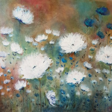 """Painting titled """"Flowers"""" by Claire Mcinnerny, Original Art, Acrylic"""