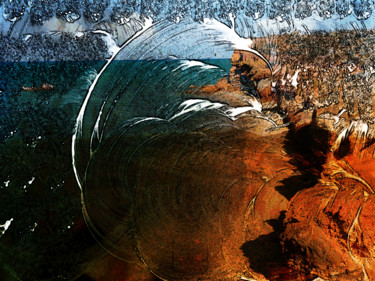 Photography, manipulated photography, artwork by Claudine Ziga