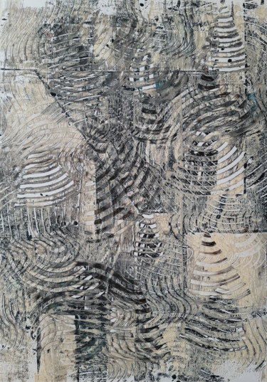 Abstract Painting, acrylic, abstract, artwork by Claudio Pavone