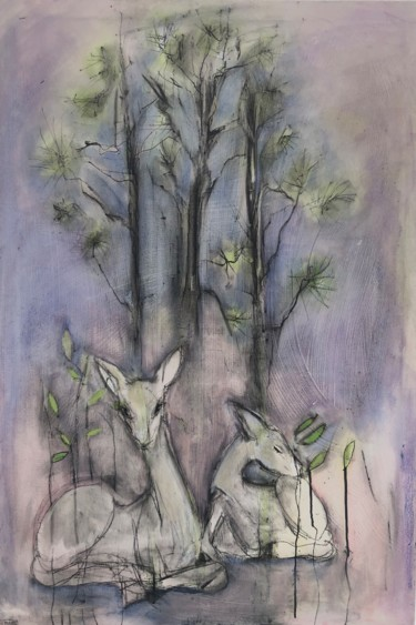 44x30x1 in ©2019 by Cindy Moore Caird