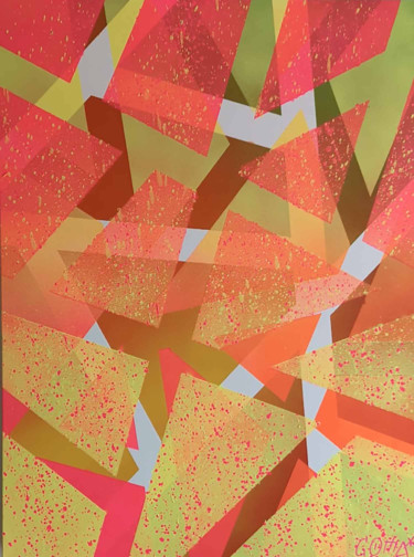 """Painting titled """"SUMMERTIME"""" by Comapop, Original Art, Acrylic"""