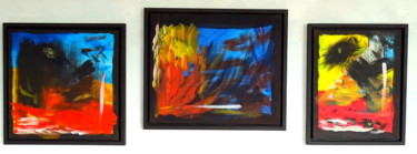 """Painting titled """"Bohemian landscapes"""" by Conrad Bloemers, Original Art, Oil"""