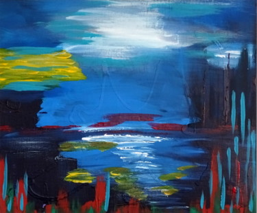 """Painting titled """"Memories of clean a…"""" by Conrad Bloemers, Original Art, Acrylic"""