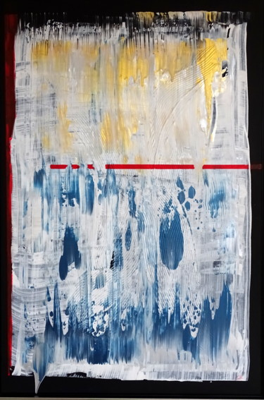 """Painting titled """"the drip"""" by Conrad Bloemers, Original Art, Acrylic"""