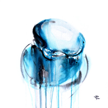 """Painting titled """"Effusion Coquillage…"""" by Constance Robine, Original Art, Watercolor"""