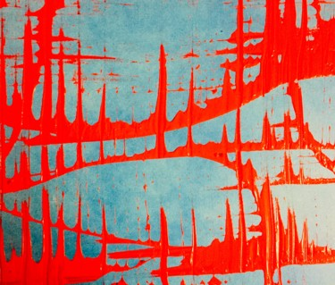 Abstract Painting, enamel, abstract, artwork by Greg Powell
