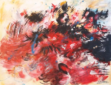 19.7x27.6x1.2 in ©2020 by Christiane Guerry (C.B.GUERRY)