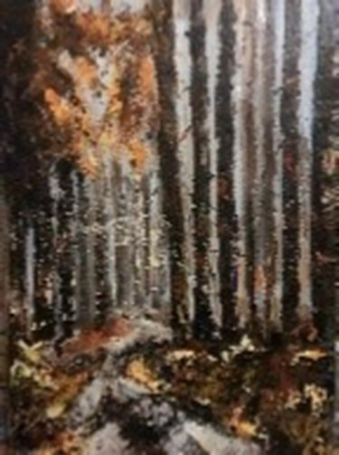 Nature Painting, oil, impressionism, artwork by Cornelie Wolff