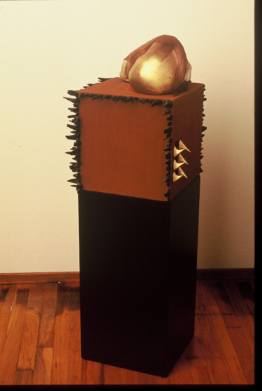 """Sculpture titled """"sacred"""" by Suzanne Waters, Original Art, Mixed Media"""