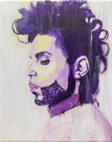 """Painting titled """"Prince"""" by Corbyn Rhodes, Original Art, Acrylic"""