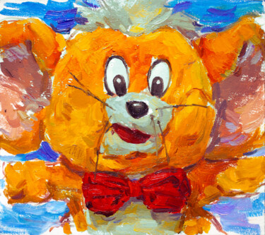 """Painting titled """"DIRTY JERRY. - brig…"""" by Cryptid, Original Art, Oil"""