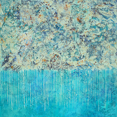 """Painting titled """"Soothing"""" by Nancy Eckels, Original Art, Acrylic Mounted on Stretcher frame"""