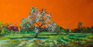 """Painting titled """"Spring. Germany"""" by Alexander Jose, Original Art, Oil"""