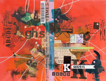"""Collages titled """"Discount! Remember!"""" by Viorel Florin Costea (DadaVFC), Original Art, Acrylic"""
