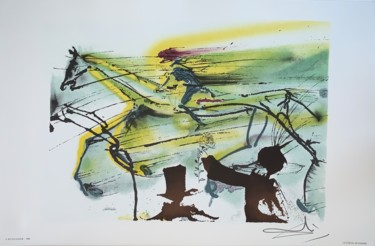 14.6x22.4 in ©1983 by Salvador Dali