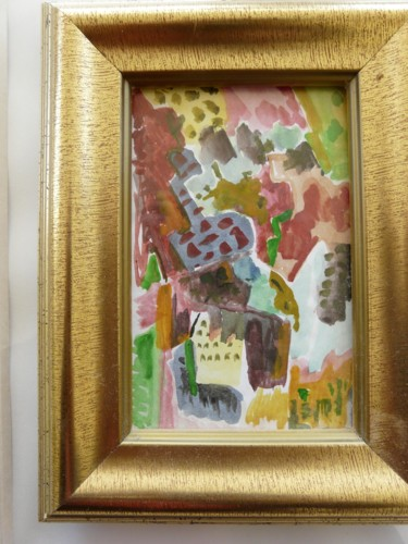 """Painting titled """"town364"""" by Aal, Original Art, Acrylic"""