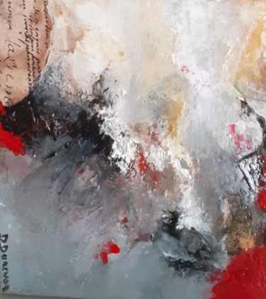 Painting, acrylic, abstract, artwork by Danielle Dunevon