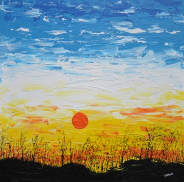 The Sun Painting by Daniel Urbaník | Artmajeur