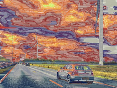 """Photography titled """"Big Dutch Skies"""" by Dave Collier (Collimost), Original Art, Manipulated Photography"""