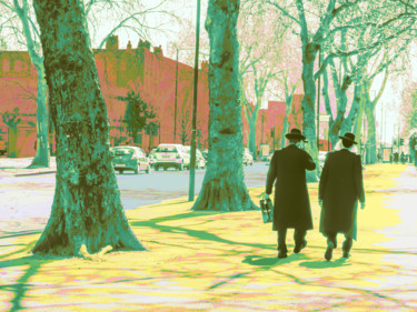 """Digital Arts titled """"April in Stamford H…"""" by Dave Collier (Collimost), Original Art, Digital Painting"""