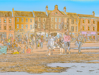 """Photography titled """"Town Centre"""" by Dave Collier (Collimost), Original Art, Manipulated Photography"""